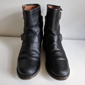 Frye Shoes - Frye Vicky Engineer Leather Boot / 7